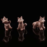 Funny Foxes chocolate mould