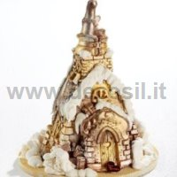 Santa Claus in chimney Chocolate Christmas Tree LINEAGUSCIO Mould