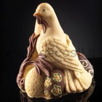 Doves Chocolate Easter Bell LINEAGUSCIO Mould