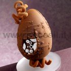 Mechanical Chocolate Easter Egg LINEAGUSCIO Mould