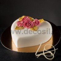 Heart of Roses Ice Cream Cake mould