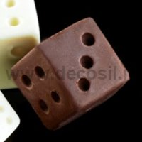 Big Dice game silicone mould