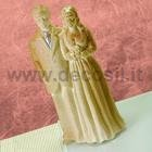 Bride and groom chocolate mould – Medium size