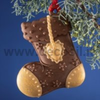 Christmas Hanging Ornament Stocking Mould