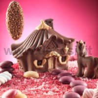 Candy House of Fairies 3D mould