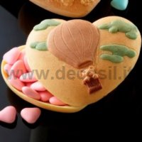 Heart Case with Ballooning mould