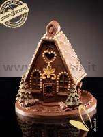 Sweet Home Chocolate Bell LINEAGUSCIO Mould