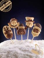 decoStick Christmas Chocolate Lollies mould