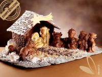 Nativity Crib with Christmas Star mould