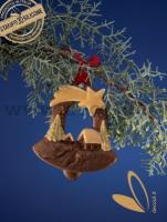 Christmas Hanging Ornament Bell Mould