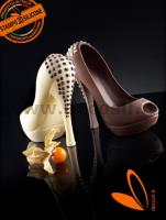 Heel Shoe with Studs chocolate mould