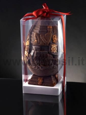 Maya Big Chocolate Easter Egg LINEAGUSCIO Mould