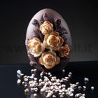 Small Roses Little Egg Chocolate Mould