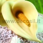 Calla flower-shaped 3D silicone mould