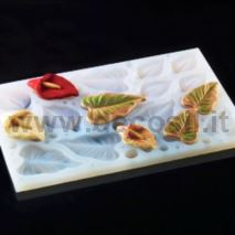 Calla lily flower-shaped silicone multiple mould