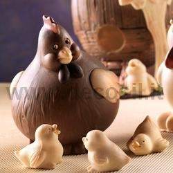 Farm Animals cake toppers chocolate moulds