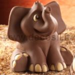 Sitting Elephant mould