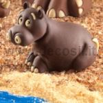 Hippopotamus mould