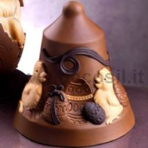Chicks Chocolate Easter Bell LINEAGUSCIO Mould