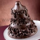 Christmas Chocolate Pinecones Bell Mould