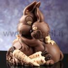 Bunny Sweet Hug Chocolate Easter Bell LINEAGUSCIO Mould