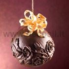 Roses Chocolate Christmas Ball LINEAGUSCIO Mould
