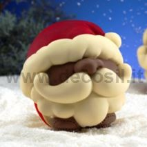 Santa Claus Chocolate Ball LINEAGUSCIO Mould