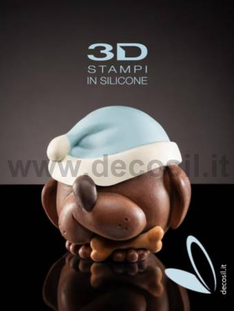 Big Hat Dog LINEAGUSCIO Sphere Mould