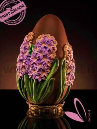 Hyacinth Chocolate Big Easter Egg  LINEAGUSCIO mould
