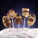 decoStick Christmas Chocolate Lolly mould