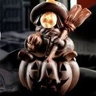 Witch with Pumpkin mould
