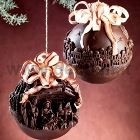 Nativity Scene Chocolate Christmas Ball LINEAGUSCIO Mould