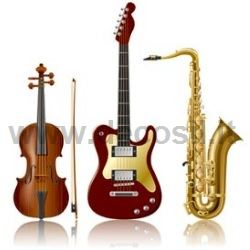 Musical instruments silicone cake moulds