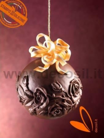 Roses Chocolate Ball LINEAGUSCIO Mold