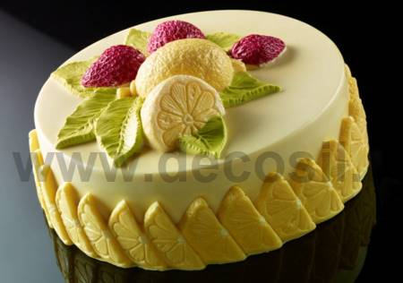 Strawberry Lemon Ice Cream Cake mould